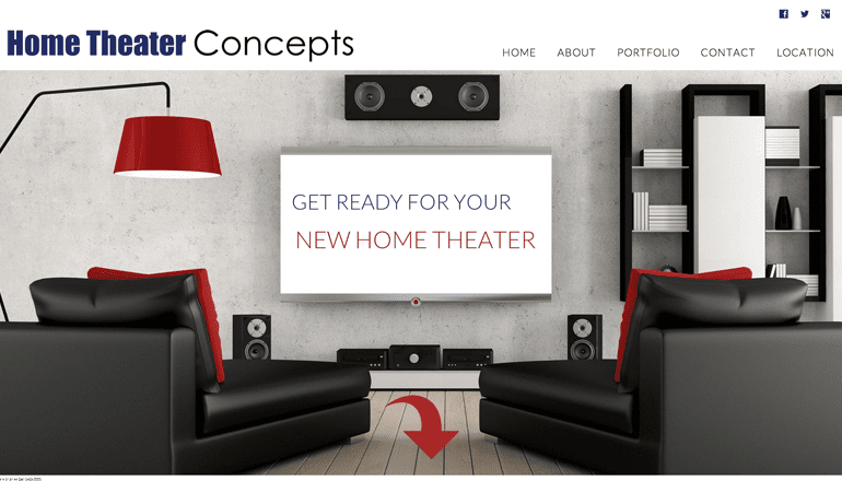 Custom graphics proximo marketing strategies for Home theater design concepts