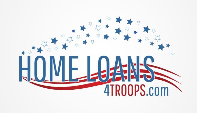 Home Loans 4 Troops Logo