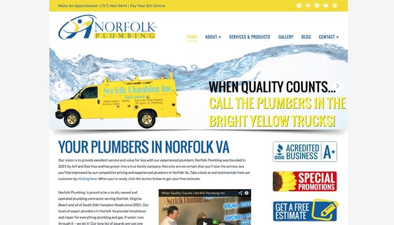 Plumbers in Norfolk VA Serving Hampton Roads Since 2001
