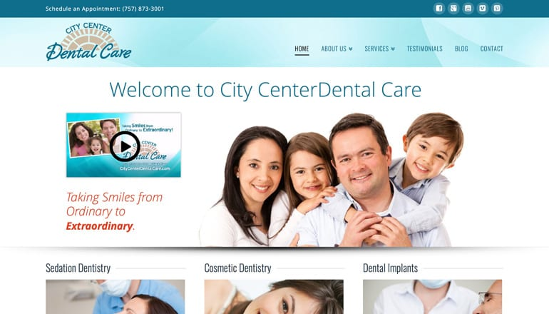 City Center Dental Care Newport News Va Dentists offer dental care for families in Newport News, Hampton & Yorktown. Call our Newport News Va dentists today